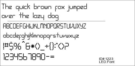 LED.Font
