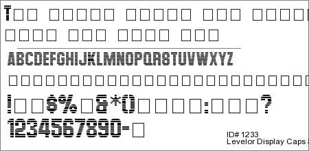 Levelor Display Caps SSi