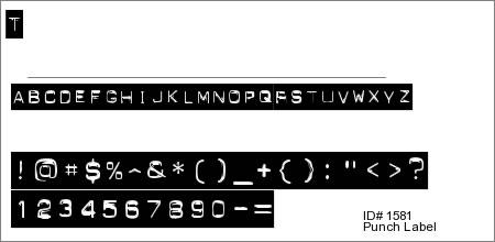 Punch Label