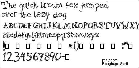 Roughage Serif