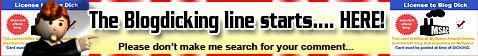 Blogdicking Banner
