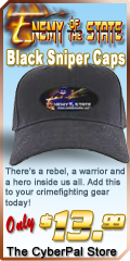 Enemy of the State Sniper Cap