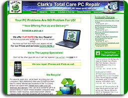 Clark's Total Care PC Repair