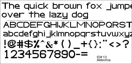 Abtecia Basic Sans Serif Font