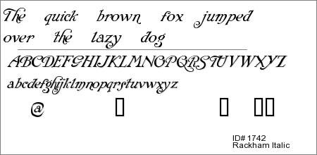 Rackham Italic™