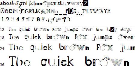 50 Fonts 2