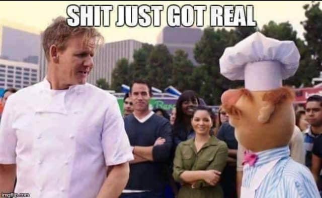 Ramsey vs Swedish Chef