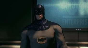 Adam West Batman in Wonderland