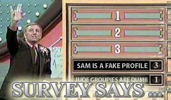 Sam is a fake profile