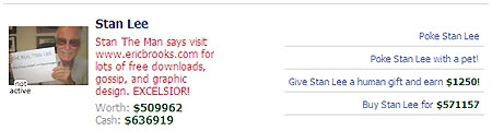 Stan Lee Endorses EricBrooks.Com
